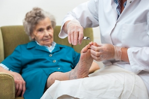 How to Care for Elderly Feet